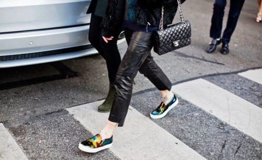 Los zapatos «skater» son las nuevas bailarinas