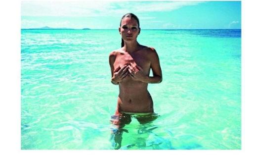 Ya puedes beber del pecho de Kate Moss