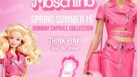 Ya está a la venta parte de la colección Barbie by Moschino
