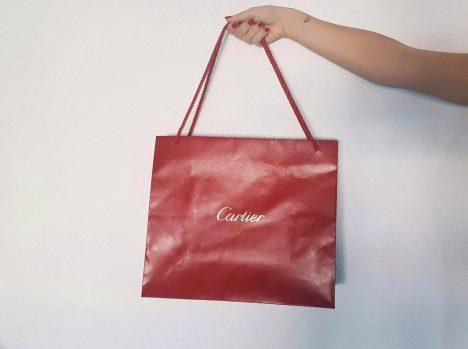 bolsa La de oficina guisadas patatas día la a a lleva sus amiga costillas de donde con Cartier mi Silvia de hoy SqdAqr