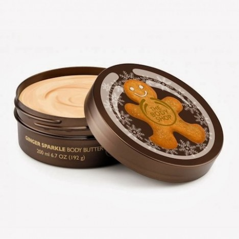Ginger Manteca corporal The Body Shop La Polvera