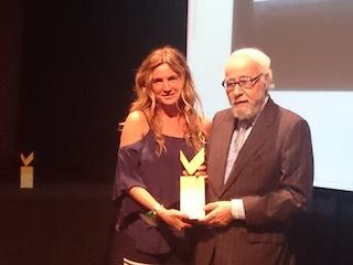 Premio Salon Look a la mejor comunicadora!!!!