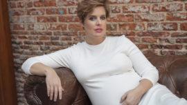 Tania Llasera se ve toda buenorra en sus 7 meses de embarazo