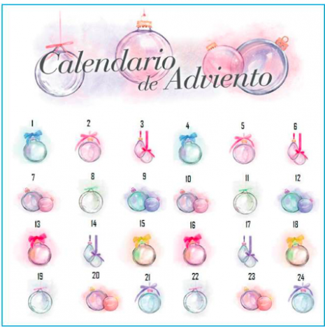 calendario adviento sisley