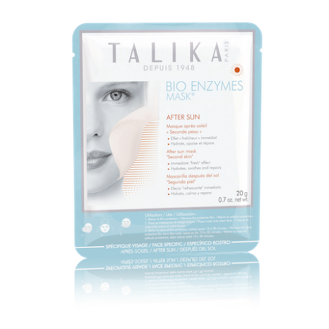 Bio Enzyme Mask After Sun de TALIKA sin fondo