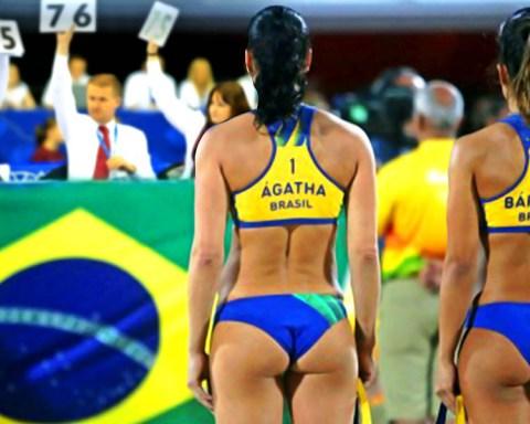 chicas de voleibol con grandes traseros