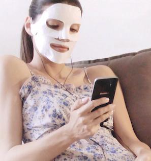 PlaySkin, una mascarilla anti-edad que se activa desde el móvil