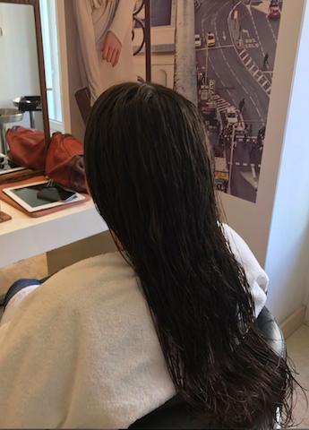 -A continuación le secaron el pelo y aplicaron 668e05c24f24