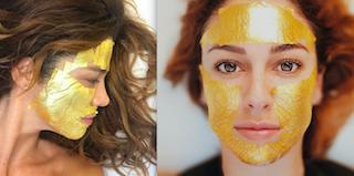 La mascarilla de oro de 24 kilates con la que se retratan actrices y modelos nacionales e internacionales