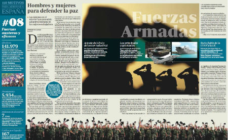 Las Fuerzas Armadas, motivo de orgullo para España