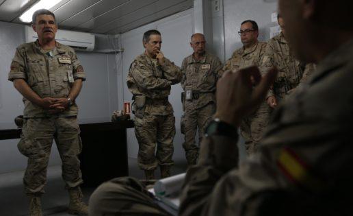Base de Herat: búnkeres y salmorejo cordobés