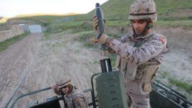 El mortero israelí utilizado por el Ejército en el repliegue de Afganistán