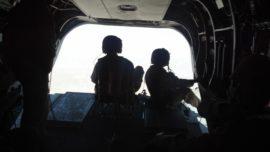 El último vuelo del «Chinook» sobre Qala i Nao