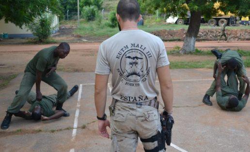 Españoles en «combate» cuerpo a cuerpo en Malí
