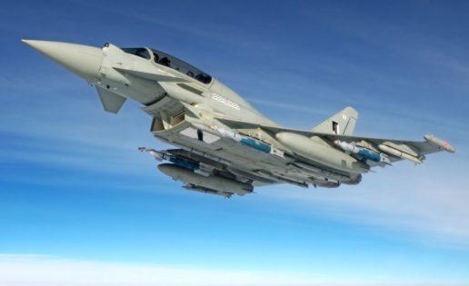 Contrato sorpresa en Catar: 24 cazas Eurofighter Typhoon con Reino Unido