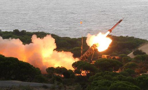 El Ejército lanza dos «Patriot»: objetivo defender a Huelva