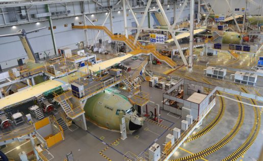 Comunicado de Airbus: anuncia la reducción de 1.164 empleos de los 136.000 actuales