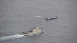 La Armada zanja el incidente con el Gobierno de Gibraltar: «Son aguas de soberanía nacional»