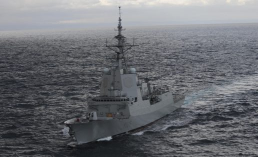 Fragata «Cristóbal Colón»: bautismo exterior en marzo con la OTAN