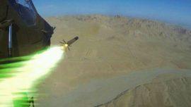 Dos fotos inéditas de las pruebas de fuego de los «Tigre» en Afganistán