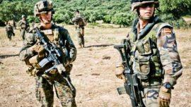 Infantes de Marina y «marines» de EE.UU., juntos en Barbate