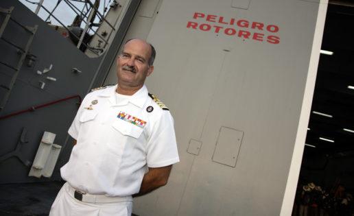 La Armada, al timón de las instituciones militares del Estado
