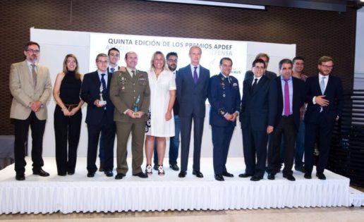 V Premios APDEF: Ejército del Aire, Mariano Casado (AUME) y comunicación del EMAD