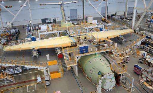 El primer avión militar A400M de Malasia toma forma en «Airbus Sevilla»