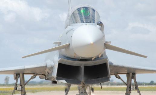 España enviará al Báltico cuatro cazas Eurofighter por la crisis en Ucrania