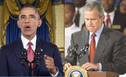 Obama-Bush: dos discursos contra el yihadismo con siete coincidencias