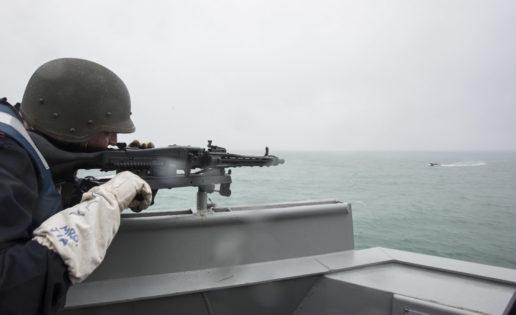 Noble Mariner: la Armada se entrena en guerra asimétrica contra ataques de lanchas terroristas