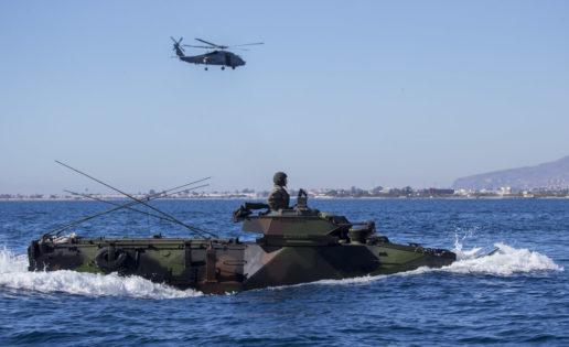 La Infantería de Marina adquirirá once nuevos vehículos de asalto anfibio