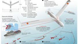 """Scaneagle, el """"drone"""" de la Armada para vigilar los mares día y noche"""