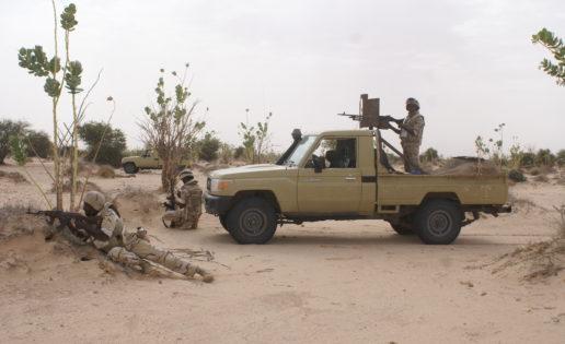 El Ejército español se instruye en el duro desierto de Mauritania