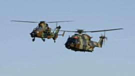 El Ejército recibe el primer helicóptero NH-90 y los dos primeros Tigre HAD