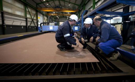 Navantia inicia la construcción de los dos nuevos buques BAM de la Armada