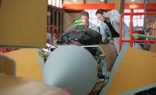 Eurofighter: así se construye este avión de combate del Ejército