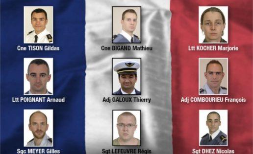 «In memoriam»: los rostros franceses y griegos de la tragedia del F-16 en Albacete