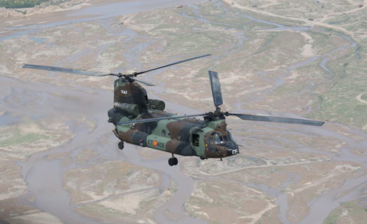 Los helicópteros Chinook del Ejército serán modernizados para aguantar otros 30 años