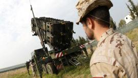¿Y la misión de misiles Patriot?