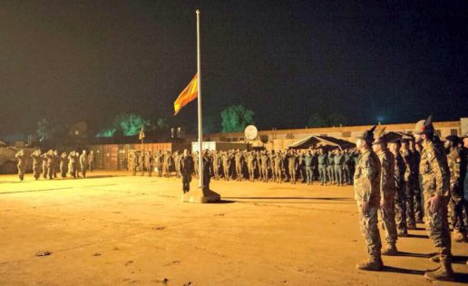 España concluye su misión militar en República Centroafricana