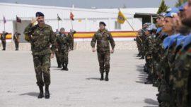 El Rey, como Mando Supremo de las Fuerzas Armadas, en Líbano… y a 60 kilómetros de Damasco