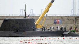 Llega a Gibraltar el submarino de propulsión nuclear «Ambush»