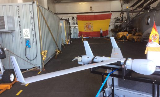 El drone silencioso de la Armada Española ya está en el océano Índico