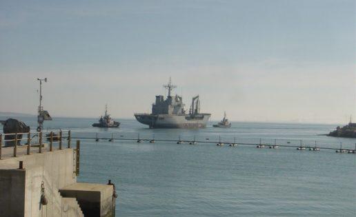 El desguace («reciclaje verde») del buque de la Armada «Marqués de la Ensenada»