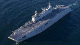El LHD «Juan Carlos I», a disposición de la reacción militar rápida de la UE en el segundo semestre