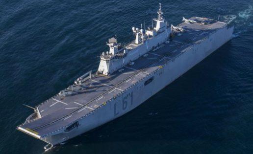 Los «marines de Morón», interesados en usar el «Juan Carlos I» en sus misiones