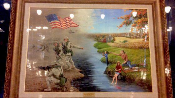 Iowa: maizales y Afganistán en su Capitolio
