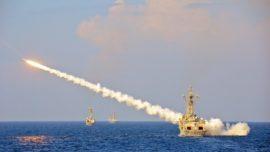 La Armada prueba los misiles antiaéreos «Standard SM-1»