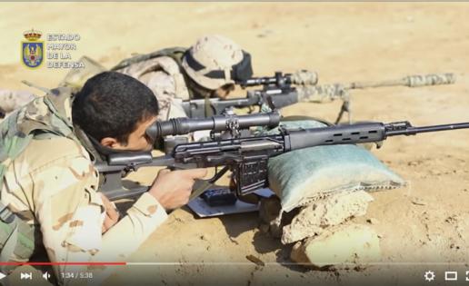Vídeo: así entrenan las tropas españolas al Ejército iraquí